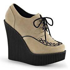 Damenstiefel & -stiefeletten im Boots-Stil ohne Muster mit Schnürsenkeln