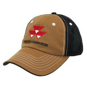 ADULT MASSEY HARRIS COW CAP with PATCH NEW
