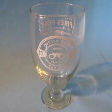 Beer Stem Tulip Glass ~ PIKE'S PEAK Brewing Devils Head Red ~ Monument, COLORADO