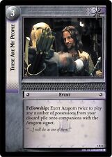 LOTR TCG These Are My People 5R41 Battle of Helm's Deep MINT FOIL
