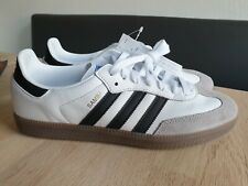 Adidas Samba - weiß/schwarz - Größe 44