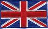 """Patch - British Flag Union Jack Great Britain United Kingdom UK 2"""" Iron On 22059"""