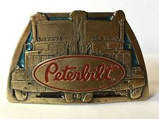 BOUCLE CEINTURE PETERBILT AMERICAN BUCKLE MADE IN USA TRUCKER CAMION 1981 N°435