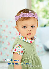 King Cole Baby Book 7 by Sue Batley-kyle. Knitting Book Over 30 Patterns