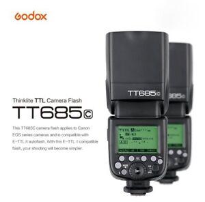 Godox TT685C 2.4G Wireless E-TTL II HSS 1/8000 Flash Speedlite for Canon EOS