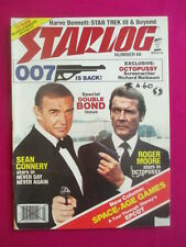 Starlog magazine Number 68- Special Double James Bond issue