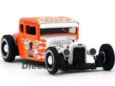 Maisto 1:24 32175 1929 Ford Modelo a Harley Davidson Nuevo de Metal Naranja /