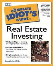 Complete Idiot's Guide to Real Estate Investing Rider, Stuart Leland Mass Marke