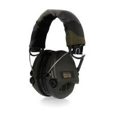 MSA Sordin Supreme Pro X Gehörschutz Gelkissen AUX-Eingang Camo-Kopfband grün