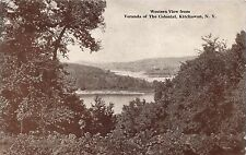 Kitchawan Ny The Colonial Hotel~View From Veranda~Morrill Press Postcard 1929 Pm