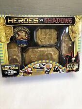 TREASURE X Heroes vs Shadows Kings Gold REAL GOLD DIPPED TREASURE INSIDE (201)