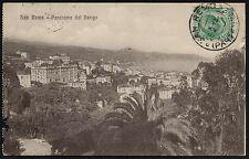AX0192 Imperia - Provincia - Sanremo - Panorama dal Berigo - 1914 Old postcard