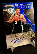 KELDON JOHNSON 2019-20 Prizm FOTL Blue Shimmer Rookie Autograph Card Spurs