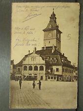cpa roumanie kronstadt brasso rathaus