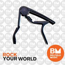 Jim Dunlop J83 Acoustic Guitar Curved Trigger Capo J83CDB J83CD Black - BM