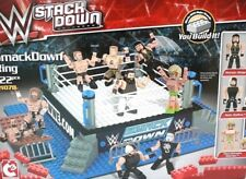 WWE Stack Down SMACKDOWN RING Roman Reigns Seth Rollins Ultimate Warrior Sealed