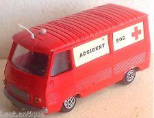 NOREV Peugeot J7 SOS Accident 1/43ème vintage