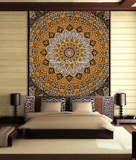 Indian Star Mandala Wall Hanging Bedding Bed Cover Hippie Queen Size Tapestry