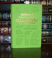 New Dubliners & Portrait of the Artist as a Young Man James Joyce Leather Feel