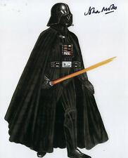 John Mollo REAL hand SIGNED Darth Vader Costume Designer photo Stars Wars COA