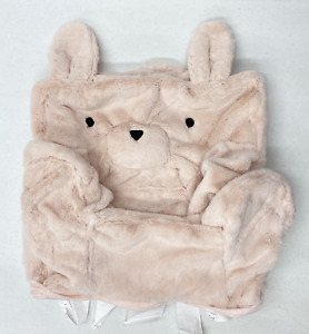 Pottery Barn KIDS My First Anywhere Chair Slipcover~Faux Fur Blush Bunny~NO MONO