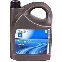 Opel 10w40 acea a3 acea b3 API sl API CF 10w40 5 litros de aceite de motor