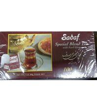 SADAF Special Blend Tea with Earl Grey ~ 100 Tea Bags - FREE SHIPPING.