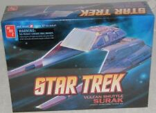 2010 discontinued amt 641 Star Trek Vulcan Shuttle Surak kit new in the box