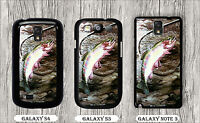 FISHING GOLDEN TROUT RIVER ART PAINT CASE FOR SAMSUNG GALAXY S3 S4 NOTE 3 -ovb6Z