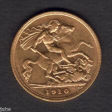 AUSTRALIA. 1910 Sydney   Half Sovereign.  Much Lustre - gEF