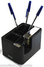 Schreibtisch Organizer Schwarz Sigma Bürobedarf Stiftefach Klebefilmabroller