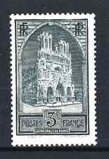 "FRANCE STAMP TIMBRE N° 259 "" CATHEDRALE REIMS 3F ARDOISE "" NEUF xx LUXE  R069"
