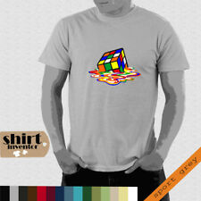 Zauberwürfel Big Bang Theory Shaldon fan funT-Shirt modern cool bis 5XL TD076