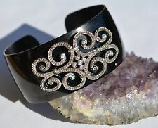Special Sale  cuff bracelet STERLING SILVER/ stainless steel With Pouch