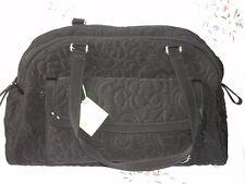 Vera Bradley  Bowler Baby Bag in Black Microfiber  Free Shipping Buy Now $94