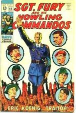 SGT FURY 65 SERGEANT & HIS HOWLING COMMANDOS 1963 MARVEL NICK AGENT OF SHIELD