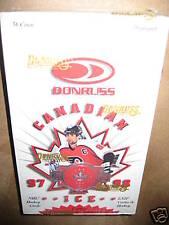 1997-98 Don Russ Canadian Ice NHL LNH Factory Sealed Hockey Cards Box