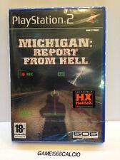 MICHIGAN REPORT FROM HELL (PS2) NUOVO SIGILLATO VIDEOGIOCO NEW PLAYSTATION 2