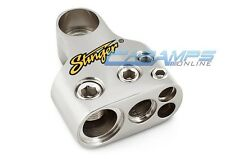 NEW STINGER GM SIDE POST MULTI OUTPUT BATTERY TERMINAL 0 | 4 | 8 GAUGE OUT 0G
