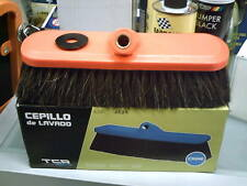 Spazzola lavaggio manuale per lavare auto camper crine anti graffio no graffiare