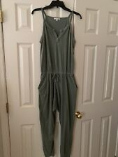 Sundry Jumpsuit Green Size Small 2