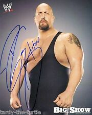 Big Show  8 x 10 Autograph Reprint  WWE Monday Night Raw  Friday Night Smackdown
