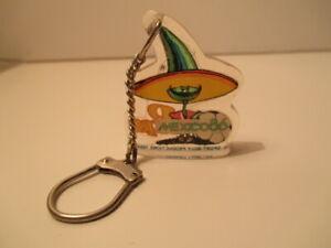 Vintage Rare Keychain Keyring Porte-Clés Mundial World Cup Mexico 86 Pique RARE