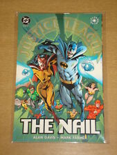 JUSTICE LEAGUE OF AMERICA NAIL BOOK 3 DC COMICS GRAPHIC NOVEL