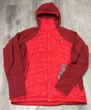 WOMENS MEDIUM HIGH RISK RED THE NORTH FACE VERTO MICRO DOWN JACKET 199.99