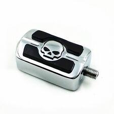 Chrome Skull Gear Shift Peg For Harley Dyna Low Rider Softail Springer FLHT FLH