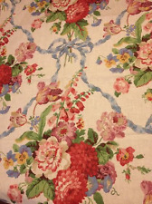 """P Kaufmann LOVE KNOT Rose Fabric 56"""" Finished Edge 1.5 Yards        H48"""