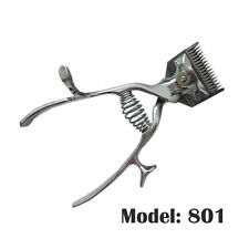 Animals Pets Dogs Grooming Hair Clippers Non Electronic Manual Silent Silver