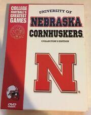 Nebraska Cornhuskers Greatest Games (DVD, 2008, 5-Disc Set, Collectors Edition)
