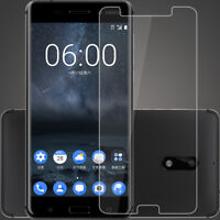 Tempered Glass Screen Protector Film Skin For Nokia 8 Sirocco 7 plus 6 Lot New